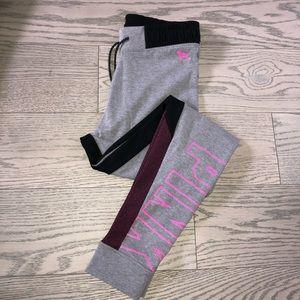 VS Pink Yoga Sweatpants